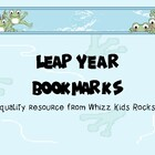 Leap Year Bookmarks - Rewards and Treats for your Kiddos