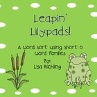 Leapin Lilypads Short O Word Sort