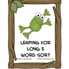 Leaping for Long E Word Sort