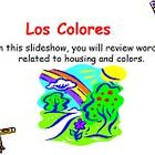 Learn Spanish - Los Colores PowerPoint