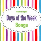 Learn-to-Spell Days of the Week Songs