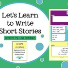 Learn to Write a Short Story SmartBoard Lesson for Beginni