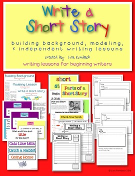 Learn to Write a Short Story lessons for beginning writers