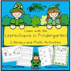 Learn with the Leprechauns in Kindergarten  *Literacy and