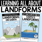Learning About Landforms  {Differentiated Materials for Gr