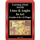 Learning About Math, Lines and Angles in Art