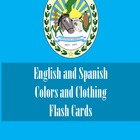 Learning Basic English and Spanish Flash Cards