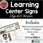 Learning Center Signs: Informative &amp; Decorative