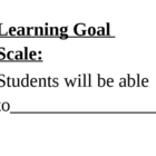 Learning Goals Scale