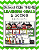 Learning Goals and Scales - Melonheadz Theme