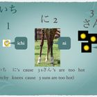Learning Japanese numbers 1 thru 10 using mnemonics song