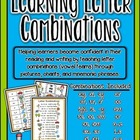 Learning Letter Combinations-aligned with Common Core Stat