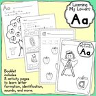Learning My Letters:  Aa