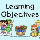 Learning Objectives Posters - Farm Theme