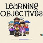 Learning Objectives Posters - Pirate Theme