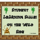 Learning Scale for Students(Wild/Safari/Jungle Theme)