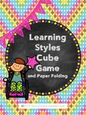 Learning Styles Cube Game- Savvy School Counselor