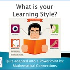 Learning Styles Quiz (Editable Format)