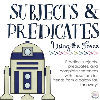 """Learning Subjects & Predicates with """"The Force"""""""