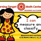 Learning Target Math Centers: K.MD.A.1 and 2 Measurement