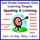 Learning Targets For Common Core State Standards 2nd Grade