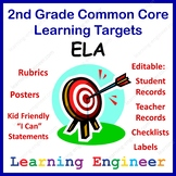 Learning Targets For The Common Core State Standards 2nd G