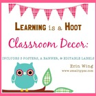 Learning is a Hoot Classroom Decor