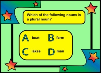 Learning the different types of NOUNS