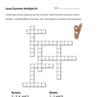 Least Common Multiple (LCM) Crossword Puzzles