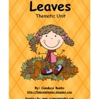 Leaves Thematic Unit