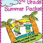 Leaving 1st Grade and ready for 2nd Grade Summer Packet