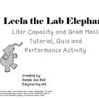Leela the Lab Elephant Metric Measurement Tutorial PowerPoint