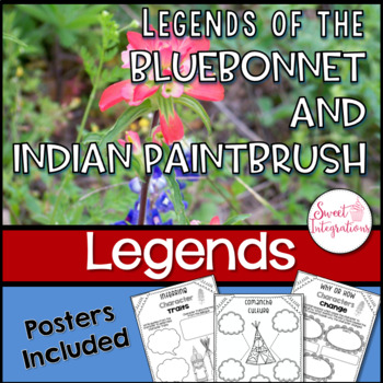 Legends of the Bluebonnet and Indian Paintbrush & Wildflow