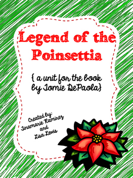 Legend of the Poinsettia {a unit for the story by Tomie dePaola}