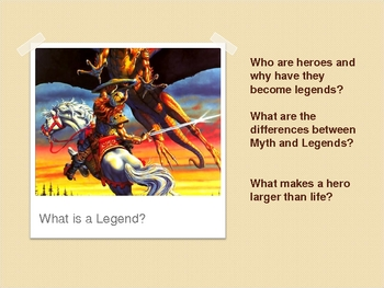 Legends and Myths