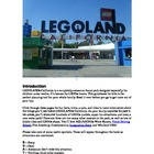 Legoland California 2013: A Planet Explorers Travel Guide