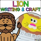 Leilani the Lion { Animal Craftivity and Writing Prompts! }