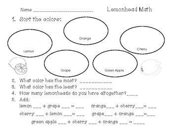 Lemonhead and Friends Math