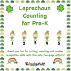 Leprechaun Counting for Pre-K