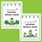 Leprechaun Detective Journal (St. Patrick's Day Freebie)
