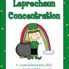 Leprechaun Homophone Concentration Game