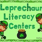 Leprechaun Literacy Center Fun (CCSS Aligned)