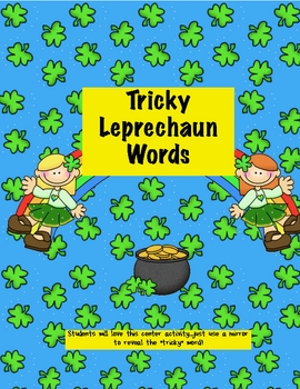 Leprechaun Mirror Words