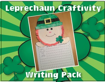 Leprechaun Page Topper Craft and Writing