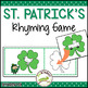 Leprechaun Rhyming Game