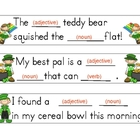 Leprechaun Silly Sentences