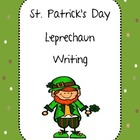 Leprechaun Writing