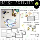 Leprechaun on a Classroom Shelf {A St. Patrick's Day Activity}