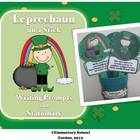 Leprechaun on a Stick - St. Patrick's Day Writing Prompts