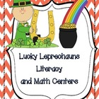 Leprechaun~Literacy and Math Centers